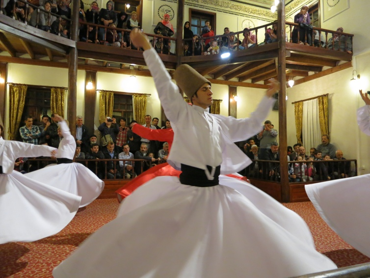 Whirling dervishes of Bursa.