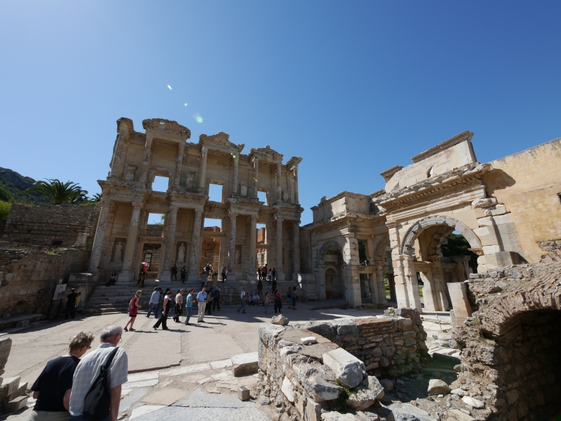 The Library of Ephesus.