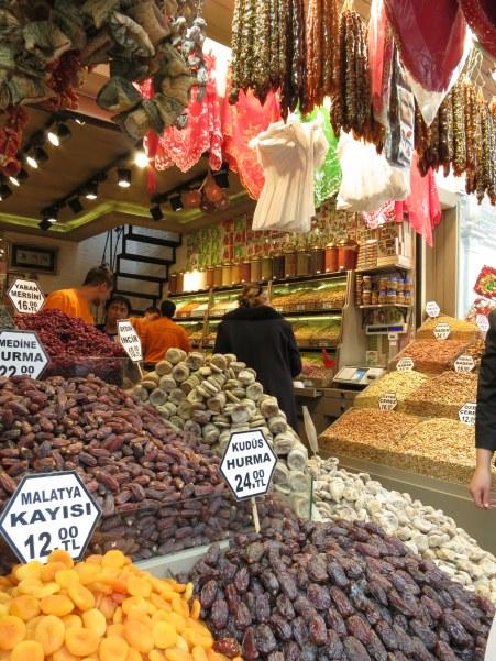 Istanbul Spice Market.